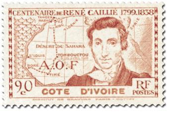 Grande Série Coloniale : Centenaire René Caillé (1939)