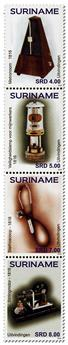 n° 2600 - Timbre SURINAME Poste