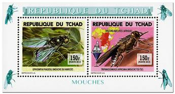 n° 1757 - Timbre TCHAD Poste