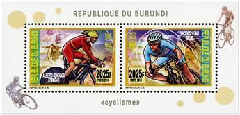 n° 2357 - Timbre BURUNDI Poste