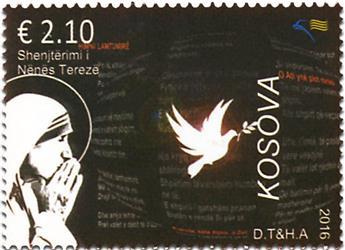 n° 213 - Timbre KOSOVO Poste
