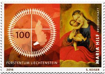 n° 1760 - Timbre LIECHTENSTEIN Poste