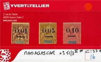 MADAGASCAR  : n° 51/3 II*