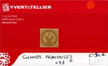 COLONIES FRANCAISES - n° 2 Obl.