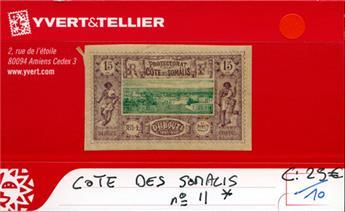 COTE DES SOMALIS - n° 11*