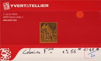 COLONIES FRANCAISES - n° 56*