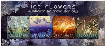 n° 19 - Timbre TERRITOIRE ANTARCTIQUE AUSTRALIEN Blocs et feuillets