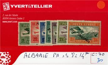 ALBANIE - PA n° 8/14*