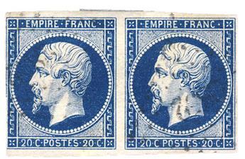 n°14Ah obl. B/TB - Timbre France Poste