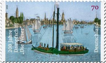 n° 3067 - Timbre ALLEMAGNE FEDERALE Poste