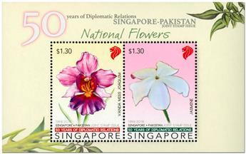 n° 184 - Timbre SINGAPOUR Blocs et feuillets