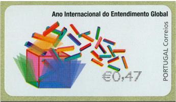 n° 215 - Timbre PORTUGAL Timbres de distributeurs