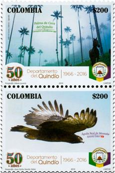 n° 1773 - Timbre COLOMBIE Poste