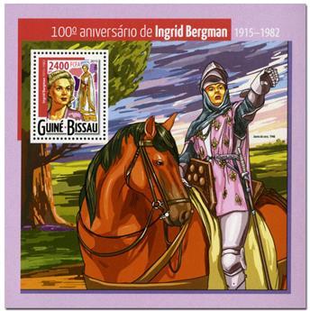 n° 1084 - Timbre GUINÉE-BISSAU Blocs et feuillets