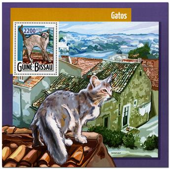 n° 1094 - Timbre GUINÉE-BISSAU Blocs et feuillets