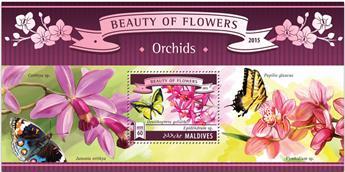 n° 806 - Timbre MALDIVES Blocs et feuillets