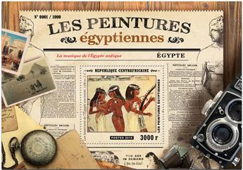 n° 888 - Timbre CENTRAFRICAINE Blocs et feuillets