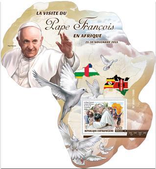 n° 893 - Timbre CENTRAFRICAINE Blocs et feuillets