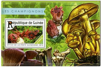 n° 1807 - Timbre GUINÉE Blocs et feuillets