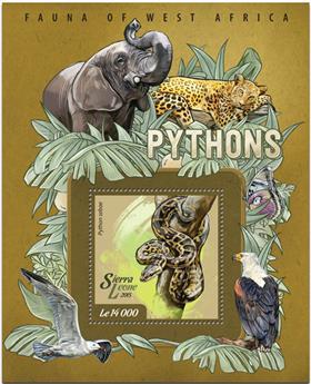 n° 726 - Timbre SIERRA LEONE Blocs et feuillets