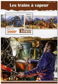 n° 1062 - Timbre TOGO  Blocs et feuillets
