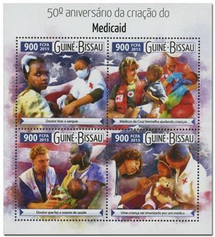 n° 6136 - Timbre GUINÉE-BISSAU Poste