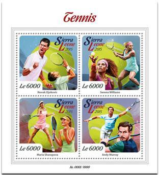 n° 5605 - Timbre SIERRA LEONE Poste
