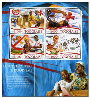 n° 4568 - Timbre TOGO  Poste