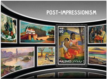 n° 971  : Timbre MALDIVES Blocs et feuillets