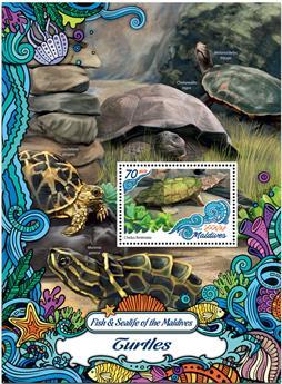 n° 981  : Timbre MALDIVES Blocs et feuillets