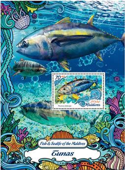 n° 986  : Timbre MALDIVES Blocs et feuillets