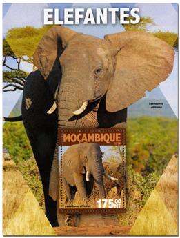 n° 1049  : Timbre MOZAMBIQUE Blocs et feuillets