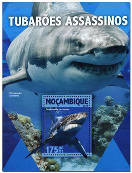 n° 1054  : Timbre MOZAMBIQUE Blocs et feuillets