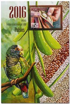 n° 1080  : Timbre MOZAMBIQUE Blocs et feuillets