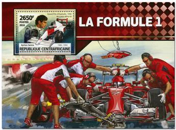 n° 997  : Timbre CENTRAFRICAINE Blocs et feuillets