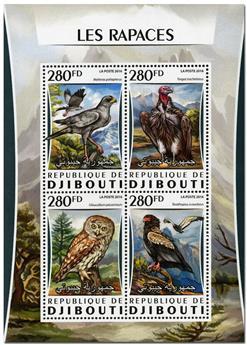 n° 1043  : Timbre DJIBOUTI Poste