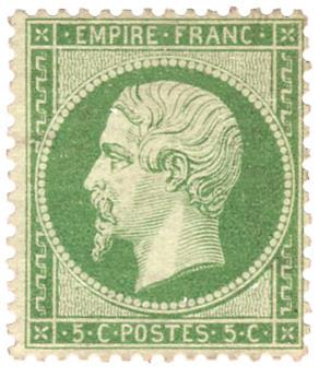 n°20(*) - Timbre France Poste