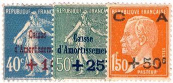 n°246/248* - Timbre France Poste