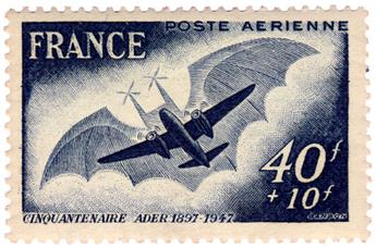 n°23b* - Timbre France Poste Aérienne