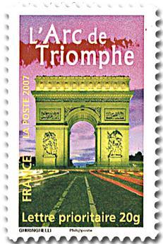 n°113A - Selo França Autoadesivos