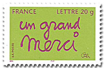 nr. 52B (3761B) -  Stamp France Self-adhesive