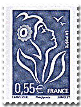 n° 53D (3802D) -  Selo França Autoadesivos