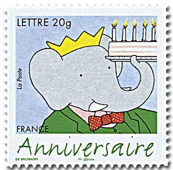 n° 85A (3927B) -  Selo França Autoadesivos