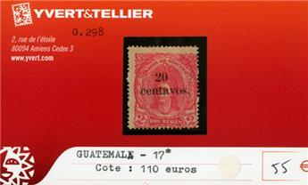GUATEMALA - n°17*