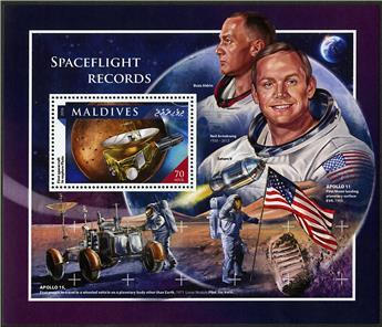 n° 993 - Timbre MALDIVES Blocs et feuillets