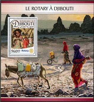 n° 135 - Timbre DJIBOUTI Blocs et feuillets