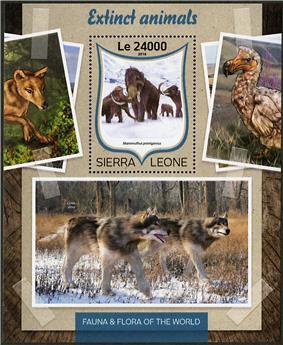 n° 1018 - Timbre SIERRA LEONE Blocs et feuillets