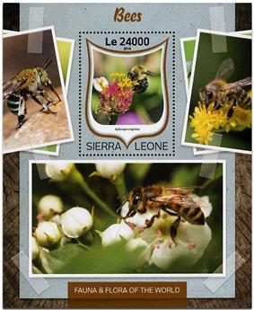 n° 1023 - Timbre SIERRA LEONE Blocs et feuillets