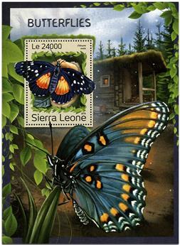 n° 1095 - Timbre SIERRA LEONE Blocs et feuillets
