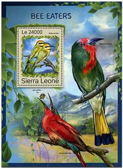 n° 1105 - Timbre SIERRA LEONE Blocs et feuillets